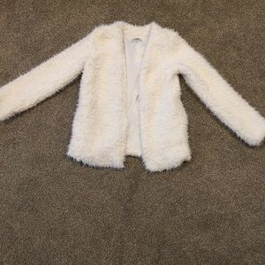 White bear coat !